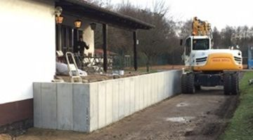 Renovierung Terrasse