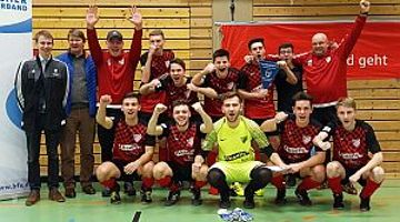 U19 des BSC Woffenbach ist Hallenkreismeister