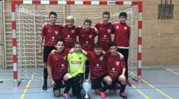 Turniersieg unserer U15 beim Hallenmasters in Wendelstein