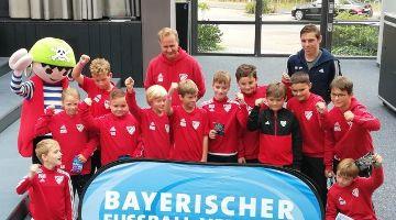 BSC Meisterfeier der E-Jugend im Playmobil-Funpark
